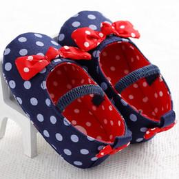 $enCountryForm.capitalKeyWord Australia - Cartoon Baby Shoes Newborn Autumn Polka Dot Cartoon Cute Baby Boy Girl Shoes First Walkers Sounds Princess