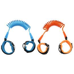 1.5m Moda Baby Child Kids pulseira anti-perdida Wrist Link Cinto de segurança Cinto Corda Leash com conector de metal free fast shipping