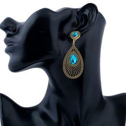 Crystal Stud Metal Australia - Girls Rhinestone Earrings Resin Sweet Metal with Crystal Gems Ear Stud New Women Fashion Wholesale Female Gift