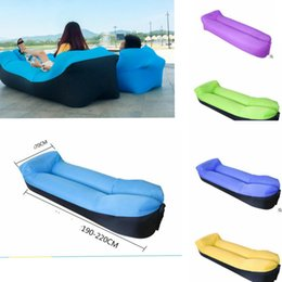 pillow inflatable lounger air sofa folding inflatable sofa fast inflatable lazy sleeping bag air sofa bag lounge ljjk695