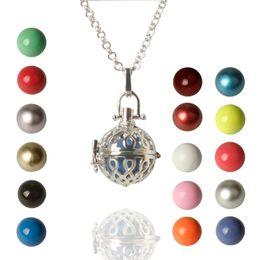 $enCountryForm.capitalKeyWord Australia - 2017 Chimes Pregnancy Ball necklace Mexico Bola ball Harmony Ball Chime Pendant Pregnant necklaces Women Gifts Pregnant necklace