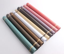 Flower chemical online shopping - Flower Wrapper Source Material Packing Paper Wish Flat Papers Plane Bouquet Gift Packaging Multicolor Practical No Peculiar Smell xy KK