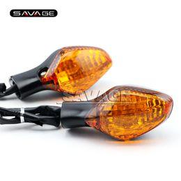 Para HONDA CTX 700 CTX700 / N / DCT CTX700N 2014 2015 Âmbar Acessórios Da Motocicleta Frente Turn signal light Indicator Lamp 3 fios