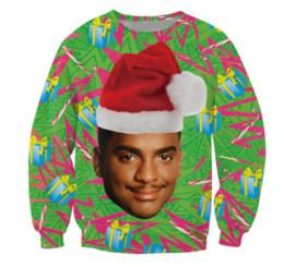 China 3D Fashion Clothing Carlton Sweatshirt Fresh Prince of Bel-Air Christmas Design Alfonso Ribeiro Crewneck Jumper Womens Mens suppliers