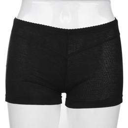 12465e2343 Wholesale- 2017 NEW Women Invisible Mesh Butt Lifter Short Buttock Enhancer  Bum Lift Booty Shaper Control Panties Shapewear