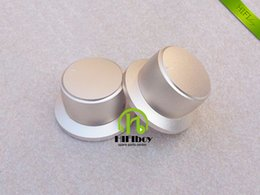 diameter speaker UK - HIFI amp audio Aluminum Volume knob 10pcs Diameter 44mm Height 25mm amplifier knob speaker knob