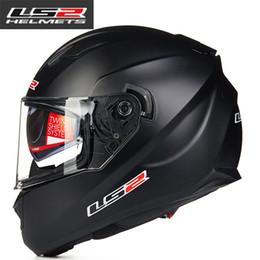 Full Race Helmet NZ - LS2 ff328 Full Face Motorcycle Helmet man women Racing moto Helmets with dual lens DOT Approved motorbike Helmets LS2 Capacete