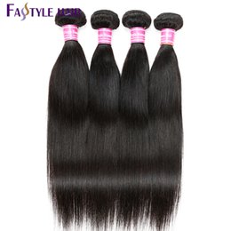 $enCountryForm.capitalKeyWord UK - Fastyle Brazilian Virgin Straight Hair Brazilian Peruvian Malaysian Indian Human Unprocessed Hair Extensions High Quality Low Price!
