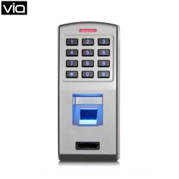 F3 прямой завод IP 65 металла биометрические отпечатков пальцев клавиатуры анти-Шпалоподбойки тревоги ж / 500 контактный пользователь