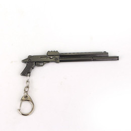 $enCountryForm.capitalKeyWord UK - Gun Weapon Shape Pendant Keychain Keyrings Gifts For Men And Women Of Character Free Shipping