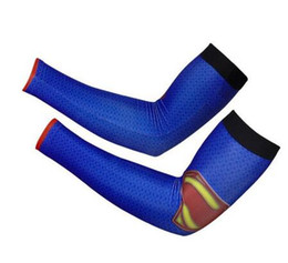 Chinese  superman batman spiderman arm sleeve Baseball Stitches digital camo arm sleeves baseball Outdoor Sport Stretch camo compression arm sleeve manufacturers