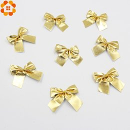 $enCountryForm.capitalKeyWord Australia - Wholesale-New Year!12PCS Gold and Silver Christmas Tree Ornaments Bow For Christmas Gift Decoration Supplies