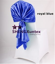 $enCountryForm.capitalKeyWord Canada - Satin Chair Sash \ Chair Hood For Wedding Chair Cover Decoration