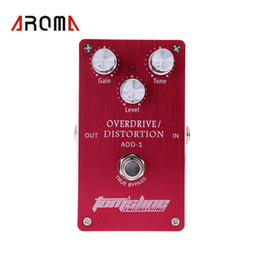 $enCountryForm.capitalKeyWord Canada - Aroma AOD-1 Overdrive Distortion Effect Pedal Electric Guitar Effect Pedal Aluminum Alloy Housing Ture Bypass Design