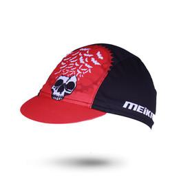 $enCountryForm.capitalKeyWord Canada - Men Women Summer Bat King Skull Pattern Cycling Cap Breathable MTB Bike Bicycle Hat Outdoor Sport Elastic Anti-sweat Cycling Hat