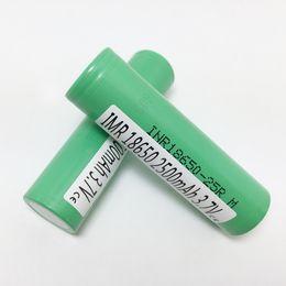 Подлинная гарантия-Корея 25R 18650 аккумуляторная батарея с Samsung MSDS Report-2500 мАч литиевые батареи высокого стока клетки на складе