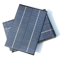 China Polycrystalline 4.2W 18V Solar Cells Solar Module DIY Solar Panel Charger Power System For 12V Battery 200*130MM Free Shipping cheap 18v solar panels suppliers