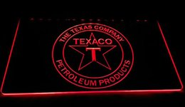 NeoN gas online shopping - LS927 R TEXACO PORCELAIN GAS PUMP Bar Neon Light Sign Decor Dropshipping colors to choose