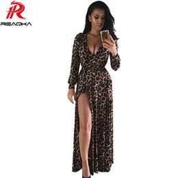 Discount Leopard Maxi Dress Plus Size   2017 Leopard Print Maxi ...