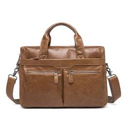 $enCountryForm.capitalKeyWord Canada - genuine leather handbag 9005 Top layer cow leather business hand bag 3 color OEM available