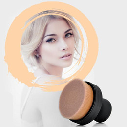 $enCountryForm.capitalKeyWord UK - O Circle Makeup Brushes 35 Angle Foundation Cream Powder Micro Fine Beauty Oval Make Up Brushes With Holder