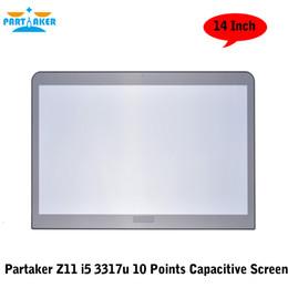 intel core i5 desktop 2019 - Partaker Elite Z11 14 Inch Desktop Intel Core I5 3317u 10 Points Capacitive Touch Screen PC