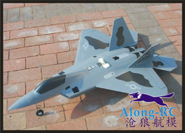 Epo Rc Models Canada - power system mutual conversion version F-22 raptor 64mm EDF PLANE or pusher EPO plane airplane RC MODEL HOBBY TOY