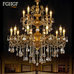 Modern Crystal Chandeliers Australia - Modern Large Chandeliers Light Luxury Lustres Crystal Chandeliers Lighting Fixtures Lamp for Living Room Bedroom Project Lamp