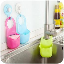 $enCountryForm.capitalKeyWord NZ - 19*8.5CM Creative Sponge Storage Rack Basket Wash Cloth Or Toilet Soap Shelf Organizer Kitchen Gadgets Accessories