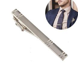 2017 Los Más Nuevos Hombres Formales de Aleación de Metal de Plata de La Manera Simple Corbata Pin Pin Bar Corchete Clip Clamp Pin para Hombres Regalo de Navidad