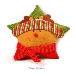 $enCountryForm.capitalKeyWord Australia - Hot sale Christmas pillow bolster for children gift on Chiristmas day with 6 defferent types Christmas bolster