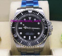 $enCountryForm.capitalKeyWord NZ - Luxury Watch New 116660 Mens Stainless Steel Bracelet Black Dial Ceramic 44MM Automatic Mechanical Men Watches