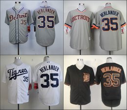 size 40 c5cc8 872ee detroit tigers justin verlander 35 white replica jersey sale