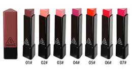 $enCountryForm.capitalKeyWord NZ - High Quality ! 3CE Eunhye House Matte LipStick korean lipstick Triangle Lip Cream Moisturizing Long-Lasting korean Makeup Cosmetic DHL SHIP