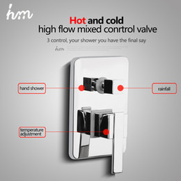 hm valve mixer solid brass in wall shower faucets concealed bathroom control switch valve water shower switch mixing valve inexpensive shower mixer
