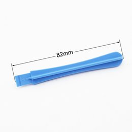 Wholesale mm ligth Blue Plastic Pry Tool Crowbar Opening Tools Spudger for iPhone s G S S i7 Cell phone Repair