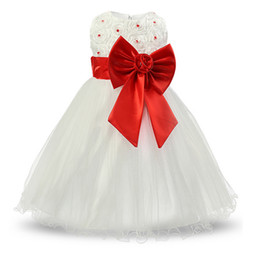 $enCountryForm.capitalKeyWord Australia - White Baptism baby princess infant dress wedding girl for girls clothes tutu dresses Summer 2017 birthday party kids girl dress