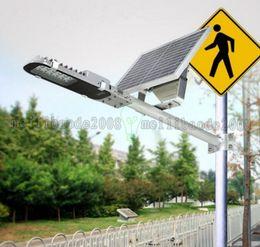 $enCountryForm.capitalKeyWord Canada - High Quality Waterproof IP65 12W LED Solar Light Street Lamp 12LED Solar Street Lights for Backyard Garden Park Road Outdoor Lighting MYY