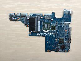 Hp Cq62 Laptop UK - For HP Compaq Presario CQ56 G56 CQ62 623915-001 623915001 w  AMD V120 CPU Laptop Motherboard DA0AX2MB6E1 AMD Notebook Systemboard