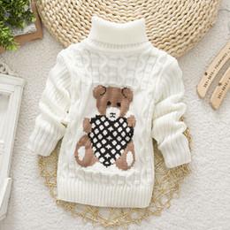 $enCountryForm.capitalKeyWord Canada - New Cartoon Autumn Winter Baby Boys Girls Kids Children's Babi Warm Turtleneck Sweaters Pullover Cardigans Top clothes Outerwear