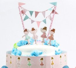 Dancing Girl Birthday Cake Topper Birthday Party Decorations Kids Birthday  Party Supplies Baby Shower Girl 2017