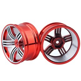 $enCountryForm.capitalKeyWord UK - RC Alloy Wheel 4pc D:52mm W:26mm Fit HSP HPI 1:10 On-Road Drift Car Rim 611R