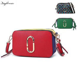 Discount pop cell phone - Wholesale-2016 Famous designer brand small Shoulder bags women pop italian leather handbags sac bolsa Candy Color Crossb
