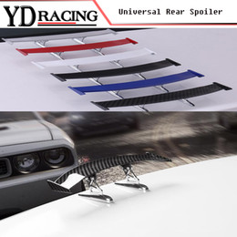 Lips For Cars NZ - Universal Style Auto Racing Car Spoiler Trunk Lip Wing Fit Any Sedan Cars ( For BMW Audi Benz VW )