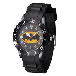 $enCountryForm.capitalKeyWord UK - Cartoon Boy girl children students Batman style Black Silicone strap quartz wrist watch 06