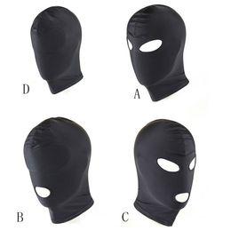 4 Estilo Mask Hood Party BDSM Máscara Fetiche Capuz Adulto Jogo Halloween Headgear venda por atacado