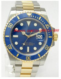 China Top Quality Luxury Wristwatch Sapphire Ceramic 40mm Datum 116613 Bezel Blue Dial Automatic Sport Mens Watch Men's Wrist Watches cheap data watch suppliers