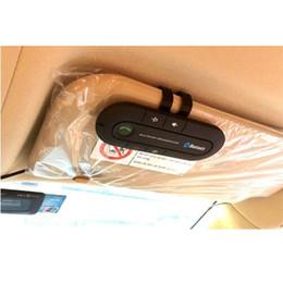 $enCountryForm.capitalKeyWord NZ - Wholesale- Car Bluetooth Speakerphone Stereo MP3 Music Player Sun Visor Wireless Bluetooth Handsfree Car Kit Bluetooth Audio Receiver