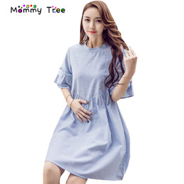 7bbae40c9d1 Stripes Maternity Dress 2017 Summer Pregnancy Clothes Fashion Maternity  Clothing for Pregnant Women Casual Pregnancy Dresses. AU  55.50 - 70.12    Piece