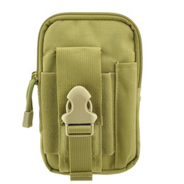 nylon tactical wallet Canada - Tactical phone Holster Molle Hip EDC Utility Waist Belt Bag Wallet Pouch Phone Cases Purse for iPhone X